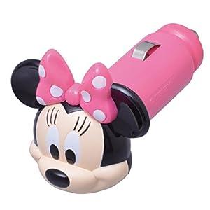 セイワ(SEIWA)ディズニー USBソケット ミニー ホワイトLED