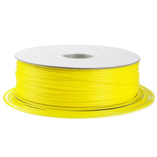 Barsoom Yellow 1.75mm 2.6lbs/1.2kg Natural ABS 3D Filament on Spool for MakerBot RepRap MakerGear Solidoodle Ultimaker & Up! 3D Printer
