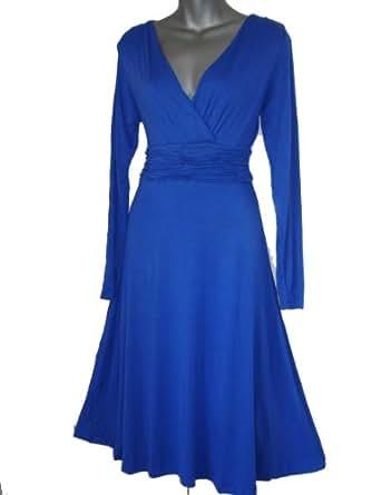 Look for the Stars Damen Kleid (36, blau)