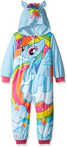 my-little-pony-girls-little-girls-rainbow-dash-hooded-fleece-blanket-sleeper-blue-6