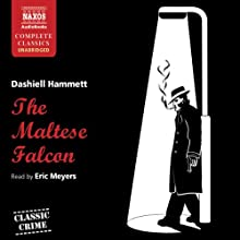 The Maltese Falcon Audiobook by Dashiell Hammett Narrated by Eric Meyers