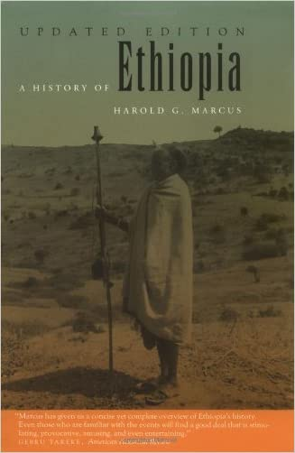 A History of Ethiopia written by Harold G. Marcus
