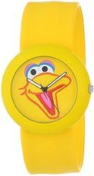 "Sesame Street SW613BB ""Big Bird"" Yellow Slap Watch"