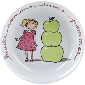 Genevieve lethu comme des grands assiette calotte pommes d19 - Vaisselle genevieve lethu ...