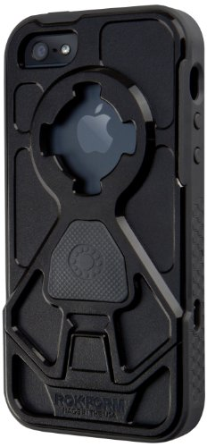 Great Price Rokform RokShield V.3 Bumper Apple iPhone 5 / 5S Case with Remote Mounting System (Gun Metal / Black)