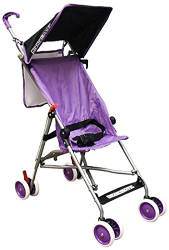 BeBeLove USA Single Umbrella Stroller, Solid Purple