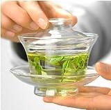 耐熱 玻璃 【ガラス 蓋椀 (がいわん)】中国茶器