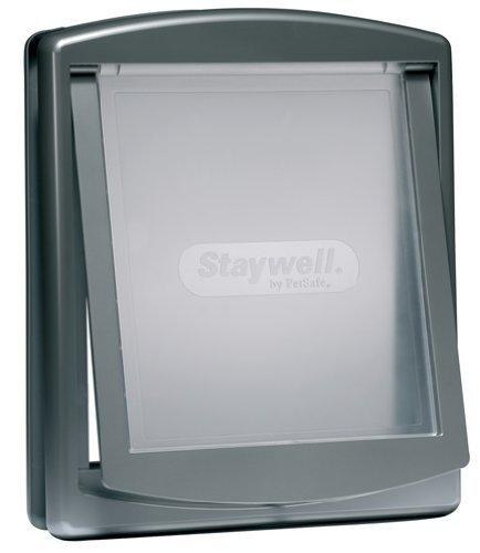 Artikelbild: Staywell 757ML Originale 2-Wege Haustiertur Mittelgross, silber
