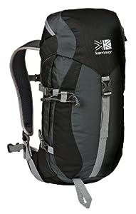 Karrimor Kodiak 25+5 Unisex Rucksack - Black/Cinder, 25+5 lt from Karrimor