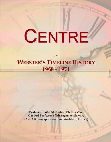 Centre: Webster's Timeline History, 1968 - 1971