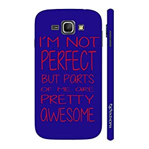 Enthopia Designer Hardshell Case I'm Not Perfect Back Cover for Samsung Galaxy J1