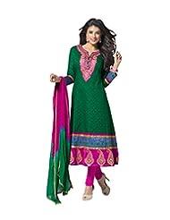DivyaEmporio Women's Salwar Suit Dupatta Unstitched Dress Material (Free Size) - B00RXEQRQ2