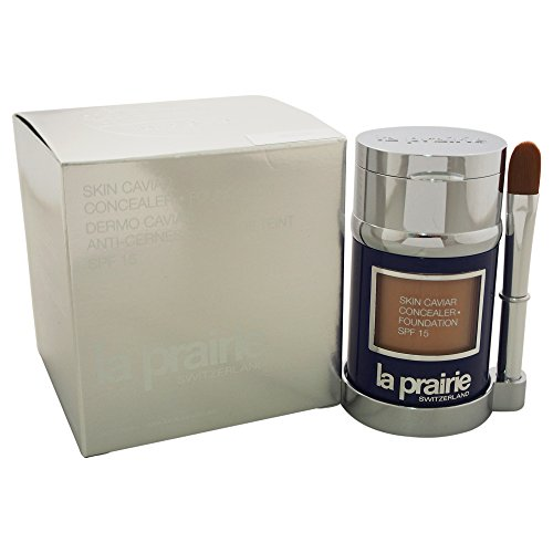 La Prairie Lozione Anti-Imperfezioni, Skin Caviar Concealer Foundation, SPF 15, 30 ml, Por Blush