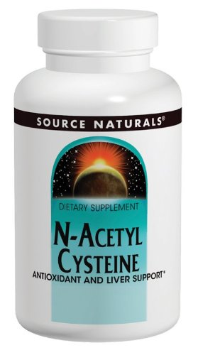 Source Naturals N-Acetyl Cysteine 1000mg, Antioxidant and Liver Support, 120 Tablets (N Acetyl Cysteine 1000 compare prices)