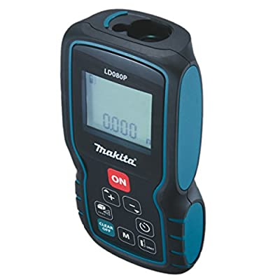 Makita LD080P Laser Distance Measure, 262' from Makita