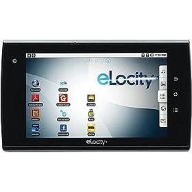 eLocity A7-004 7-Inch Tablet Computer - Black