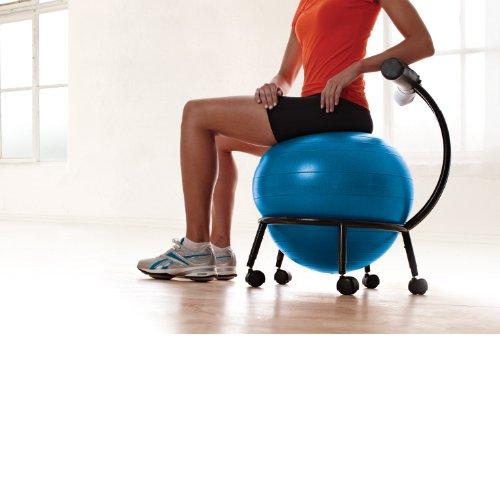 Ball Balance Season Java Game: Gaiam Custom Fit Adjustable Balance Ball Chair