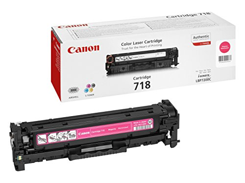 Canon Original Magenta Laser Toner Cartridge 718 226863 Black Friday & Cyber Monday 2014