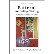patterns for college writing a rhetorical reader and guide 10th edition