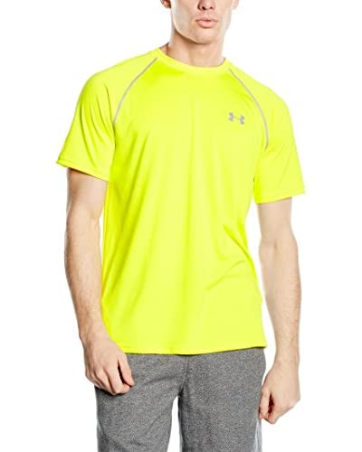 Under Armour Funktionsshirt Tech Man gelb size is not in selection DE