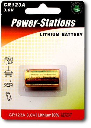 Power-Stations- Photo Lithium Battery - 123A / Cr123A - Uk'S Best Value
