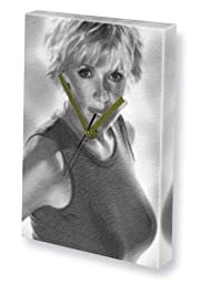 AMANDA TAPPING - Canvas Clock (LARGE A3 - Signed by the Artist) #js002