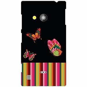 Nokia Lumia 720 Back Cover - Abstract Art Designer Cases