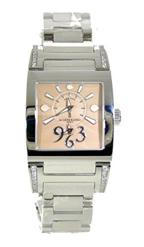 de-grisogono-tino-acier-analog-quartz-womens-watch-n01-002-1b-certified-pre-owned