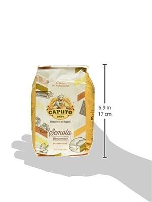 Caputo Semola Di Grano Duro Rimaninata Semolina Flour 1 kg Bag