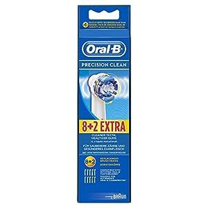 Oral-B Precision Clean - Cabezales de precisión para cepillo de dientes eléctrico (8+2 unidades)