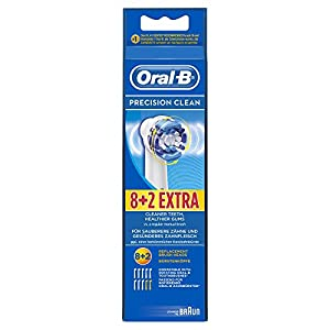 Oral-B Precision Clean - Cabezal de recambio, 10 unidades
