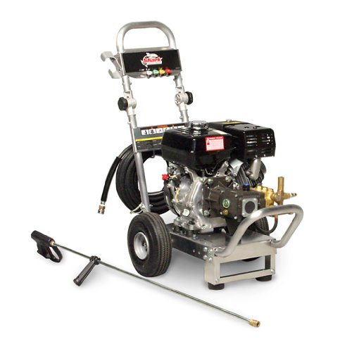 Shark Dga-303037 3-Gpm Aluminum Series Cold Water Washer, 3000 Psi, Honda Gx270 Engine