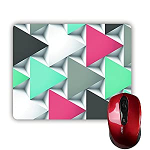 Sale-mall Seven Artful Diamond MousePad Rectangle Non-Skip Rubber Mouse Pad 220mm x 180mm x 3mm from Sale-mall