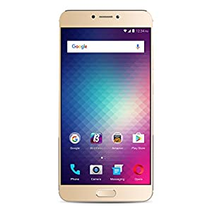 BLU VIVO 6 4G LTE SIM-Free Smartphone (64 GB and 4 GB RAM) - Gold