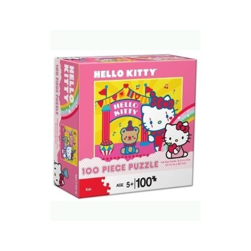 Hello Kitty 100 piece Circus Clown Puzzle - 1