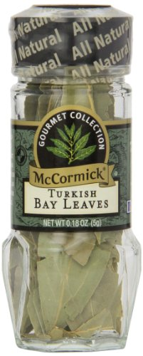 McCormick Gourmet Collection Turkish Bay Leaves, 0.18 oz (Turkish Bread compare prices)