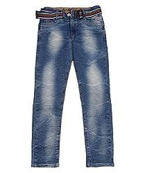 DUC Boy's Denim Dark Blue Jeans (kd12-db-38)