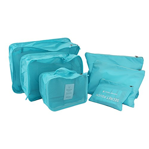 6pcs-Packing-Cubes-SetPolyester-Travel-Luggage-Packing-Organizers-Storage-Clothing-Bags-with-3-Cubes-and-3-Pouches-for-Camping-Travel-Cosmetics-Socks-Underwares