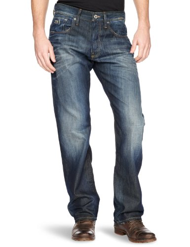 G-Star 3301 Loose Men's Jeans Vintage Aged W31INxL30IN