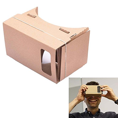 Aobbi™Ultra Clear Google Cardboard Valencia Quality 3D Glasses VR Virtual Reality Glasses