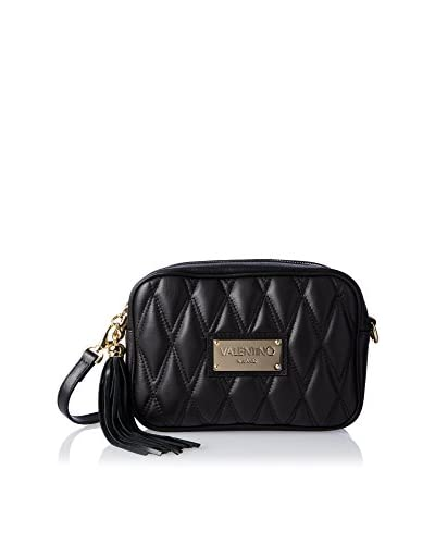 Valentino Bags by Mario Valentino Women's Mia D Quilted Cross-Body, Black
