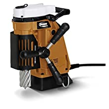 "Jancy Magforce Portable Magnetic-Base Drill, 120V, 10.2 Amp Motor, 1-5/8"" Diameter x 2"" Depth Capacity"
