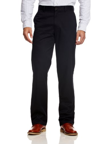 Dockers Men's D2 All the Time Regular Fit Khaki Straight Trousers