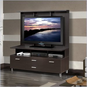 "Cheap Nexera Nexera Element 56″"" TV Stand with Hutch in Espresso (B005MNGLIU)"
