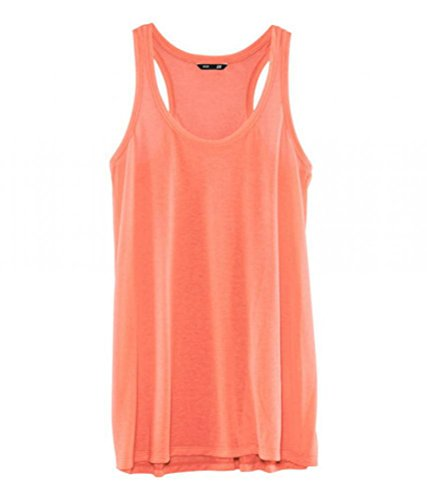 Neestaa Smooth Sense Long Wide Transparent Solid Vest Soft Smooth Body Color