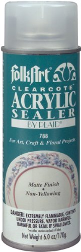 Folk Art 788 6-Ounce Clearcote Matte Acrylic Sealer front-1012432
