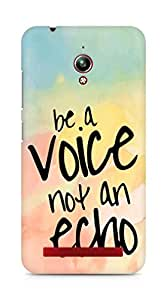 AMEZ be a voice not an echo Back Cover For Asus Zenfone Go ZC500TG