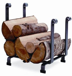 Enclume Hearth Log Rack, Hammered Steel (Fireplace Rack 18 compare prices)