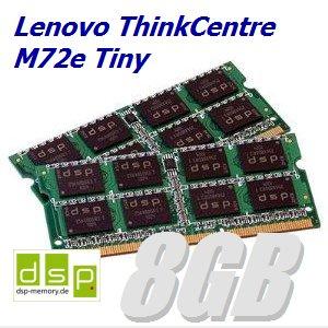 8GB Speicher / RAM für Lenovo ThinkCentre M72e Tiny (Set aus 2 Modulen)