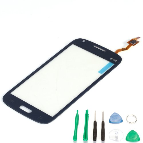 Touch Screen Glass Digitizer For Samsung Galaxy Core GT-i8260 i8262 with free tools (Not include LCD) (Blue)